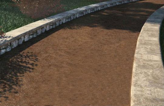 Estabilización de suelo cemento en zona peatonal con productos GeoCompact