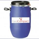 Envase 60 litros de polímero estabilidador para estabilización de suelo cemento