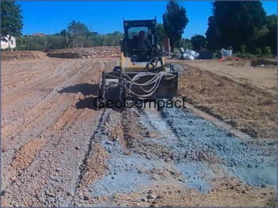 Escarificacion en estabilizacion de suelo cemento con - Como hacer cemento para suelo ...