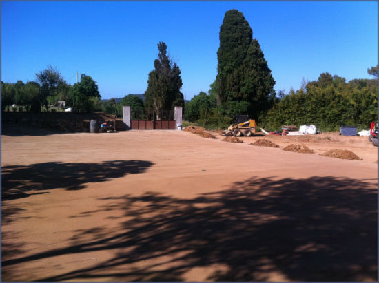 resultado de una estabilizacion de suelo cemento in situ con productos geocompact