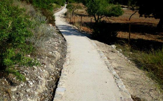 Estabilización de suelo en carril bici con productos GeoCompact