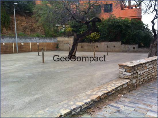 Estabilización de suelos cemento GeoCompact