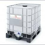 Envase ibc 1000 litros de polímero estabilidador para estabilización de suelo cemento