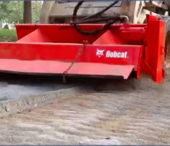 Rotor escarificador de suelo cemento
